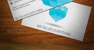 Cubic Business Card #GraphicRiver Befristetes Angebot! Diese…