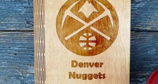 NBA Denver Nuggets  Notebook Hand gemacht  Reisende Notebook  handgemachte Notebook  Memor ...