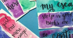 Aquarell Lesezeichen - #bookmarks #order #Watercolor