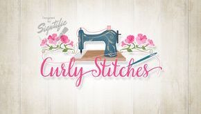 Sewing Business Logo Benutzerdefinierte Crafty Logo OOAK Logo von Signtific