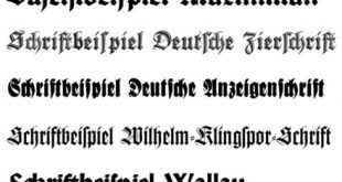 #source: Wikipedia.org/Blackletter