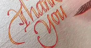 #Calligraphy # #Lettersing # #Typography # #Typism # #Art Videos